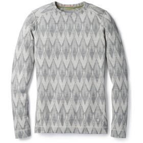 Smartwool Merino 250 Baselayer Pattern Ondergoed bovenlijf Dames grijs